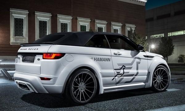 Hamann Range Rover Evoque Cabrio Official 0 600x363 at Hamann Range Rover Evoque Cabrio Goes Official