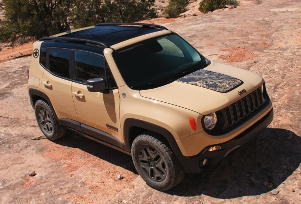 Jeep Renegade Deserthawk 600x407 at Official: Jeep Renegade Deserthawk and Altitude