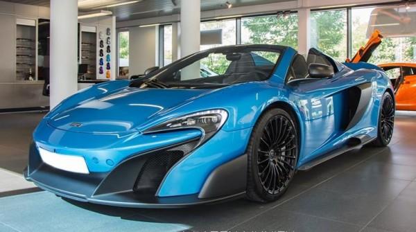 Kng Fisher Blue McLaren 675LT Spider 0 600x335 at McLaren 675LT Spider, This Time in King Fisher Blue