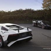 Lamborghini Aventador SV PUR 4 175x175 at 2x Lamborghini Aventador SV on Matching PUR Rims