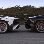 Lamborghini Aventador SV PUR 5 175x175 at 2x Lamborghini Aventador SV on Matching PUR Rims