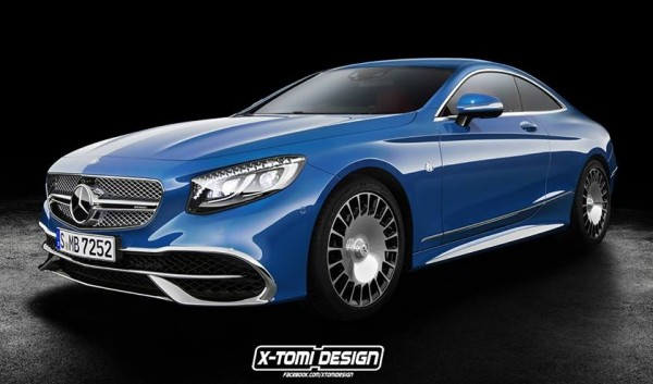 Maybach S 650 Coupe 600x353 at Maybach S 650 Envisioned as a Coupe
