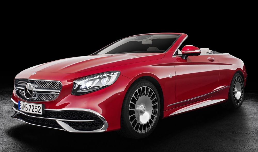 Mercedes Maybach S 650 Cabriolet Official 0 at Mercedes Maybach S 650 Cabriolet Goes Official