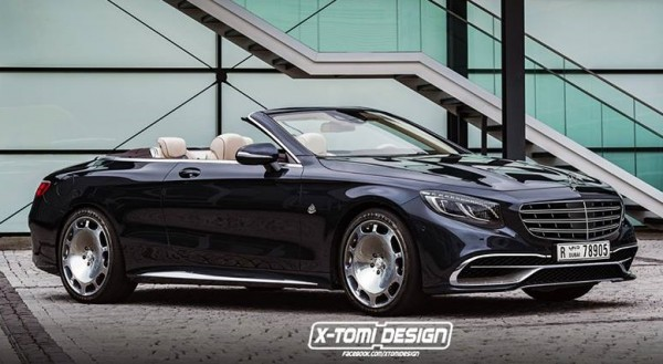Mercedes Maybach S 650 Cabriolet Render 600x329 at Maybach S 650 Cabriolet May Look Like This!