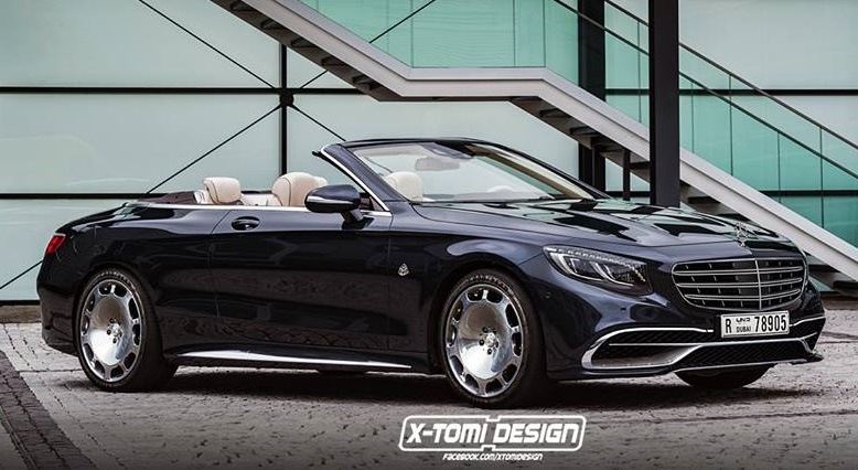 Mercedes Maybach S 650 Cabriolet Render at Maybach S 650 Cabriolet May Look Like This!