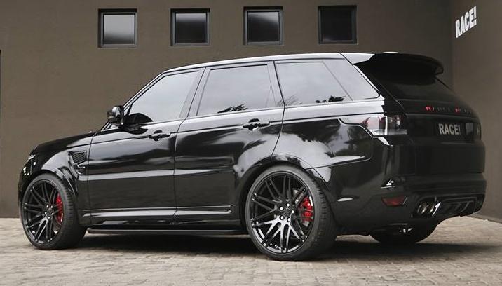 Blacked Out Range Rover >> Blacked-out Range Rover Sport SVR by RACE!