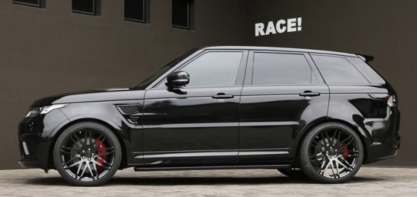 Range Rover Sport SVR by RACE 0001 600x283 at Blacked out Range Rover Sport SVR by RACE!