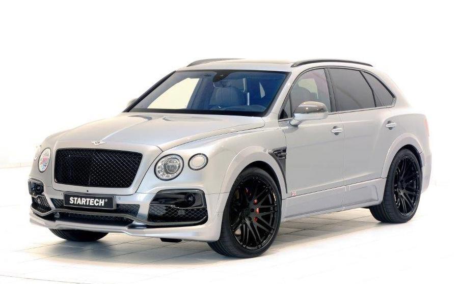 Sartech Bentley Bentayga new 0 at Startech Bentley Bentayga in Fancy New Colors