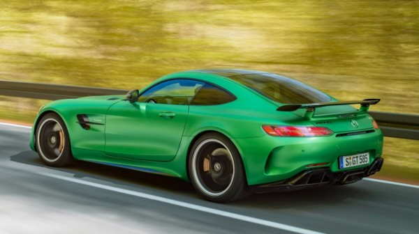 AMG GT R Ring 2 600x336 at Watch Mercedes AMG GT R Tackle the Nurburgring