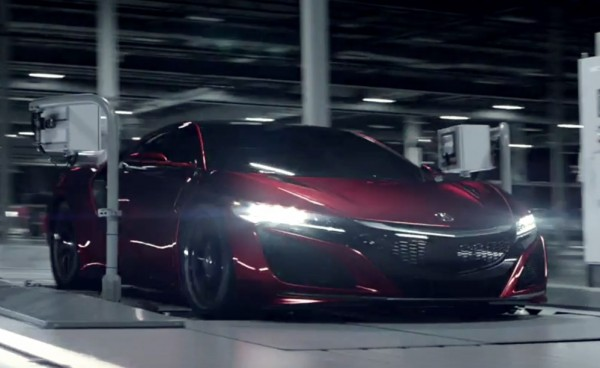 Acura NSX Film 600x368 at Each Acura NSX Comes with a Film Chronicling its Birth