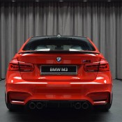 BMW M3 Competition Package Ferrari Red 20 175x175 at Up Close with a Special BMW M3 Competition Package