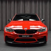 BMW M3 Competition Package Ferrari Red 4 175x175 at Up Close with a Special BMW M3 Competition Package