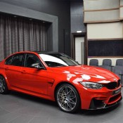 BMW M3 Competition Package Ferrari Red 7 175x175 at Up Close with a Special BMW M3 Competition Package