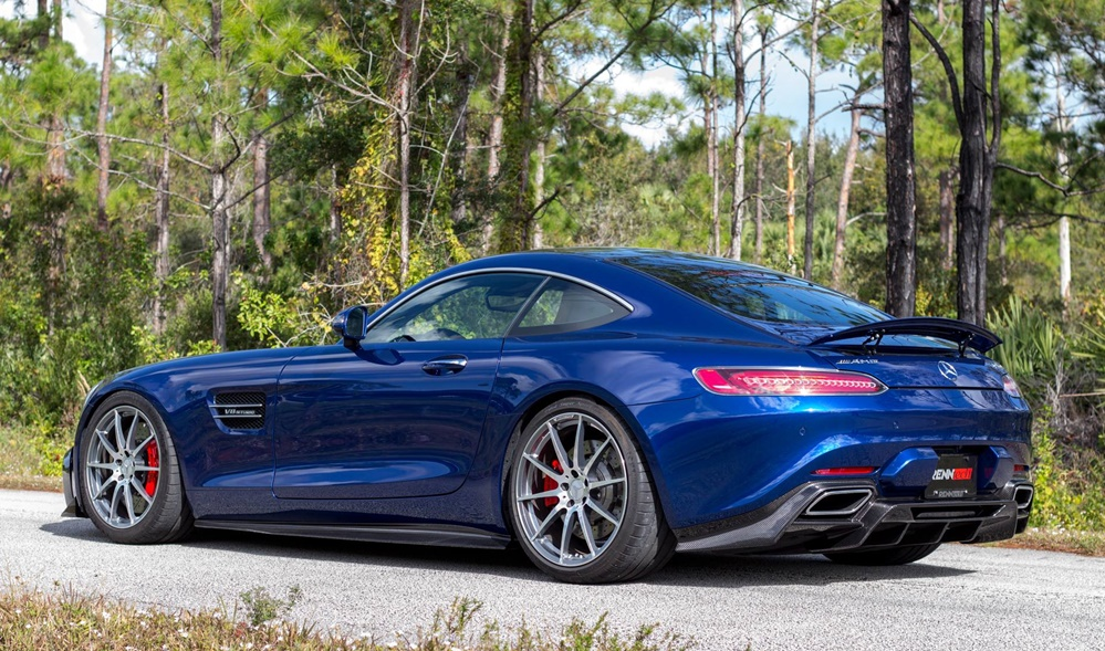 Brilliant Blue RENNtech AMG GT Is a Sight to Behold