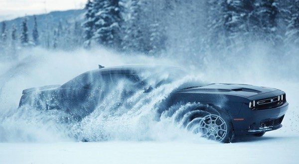 Dodge Challenger GT AWD ad 0 600x330 at Dodge Challenger GT AWD Hits the Snow in New Ad