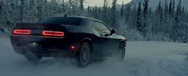 Dodge Challenger GT AWD ad 1 600x244 at Dodge Challenger GT AWD Hits the Snow in New Ad