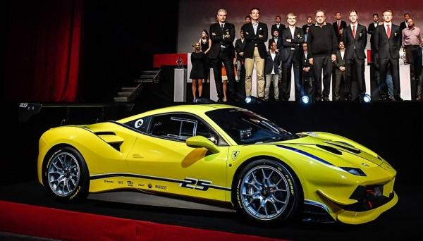 Ferrari 488 Challenge 1 600x342 at Ferrari 488 Challenge Unveiled at Daytona