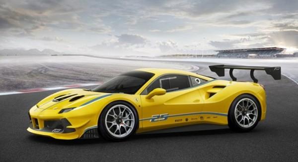 Ferrari 488 Challenge 2 600x327 at Ferrari 488 Challenge Unveiled at Daytona