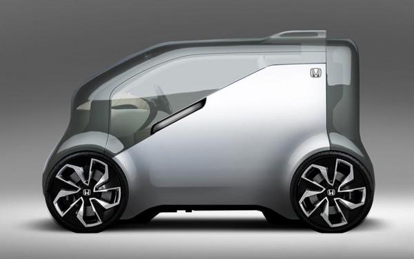 """Honda NeuV 600x375 at Honda NeuV Showcases """"Cooperative Mobility Ecosystem"""""""