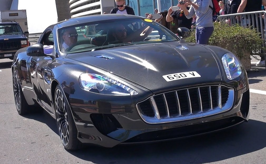 Kahn Vengeance Monaco at Kahn Vengeance DB9 Sighted Driving Around Monaco