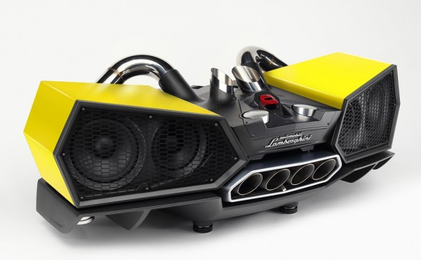 Lamborghini Speakers 0 600x371 at €20K Lamborghini Speaker Is the Ultimate Christmas Present