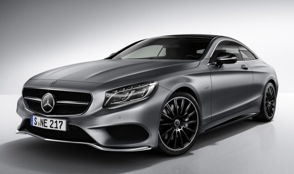 Mercedes S Class Coupe Night Edition 1 600x356 at Official: Mercedes S Class Coupe Night Edition