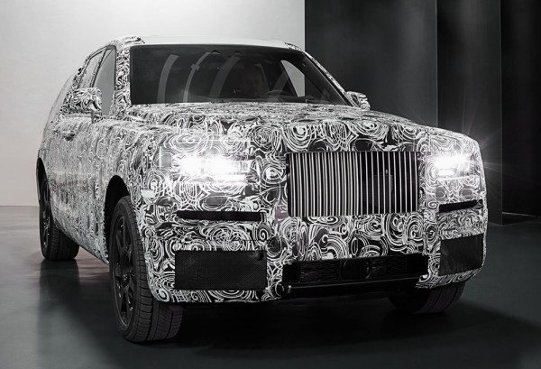 Rolls Royce Cullinan preview 2 600x409 at Rolls Royce Cullinan SUV Shows its General Shape
