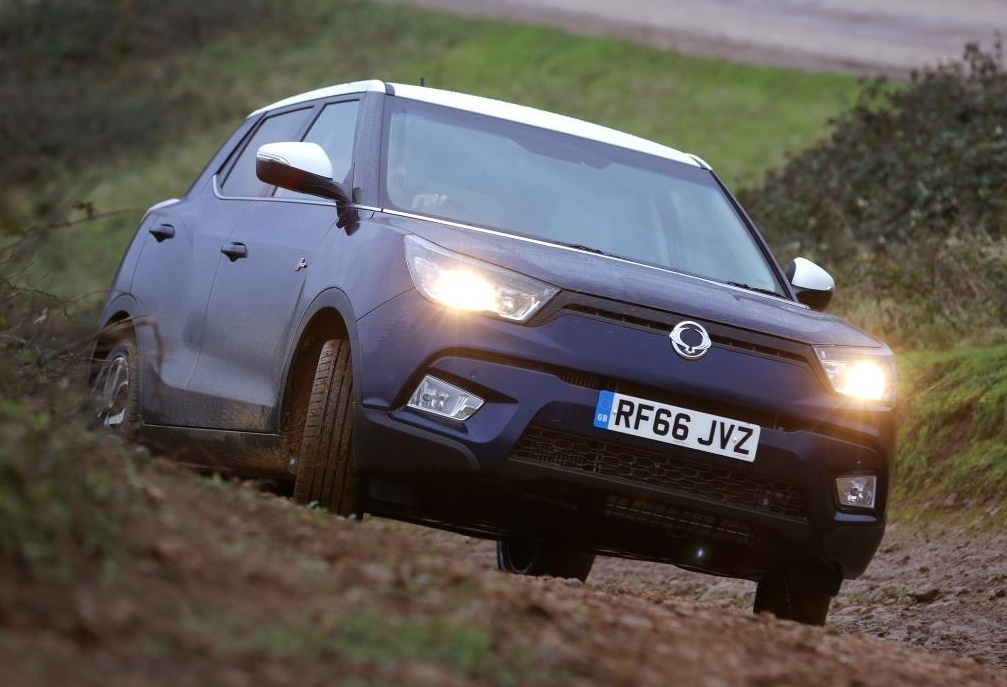 SsangYong Tivoli 4x4 1 at SsangYong Tivoli 4x4 Gets Free Winter Upgrades