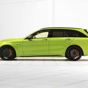"Brabus Mercedes AMG C63 Wagon 650 1 175x175 at Brabus Mercedes AMG C63 Wagon 650 ""Green Hell"""