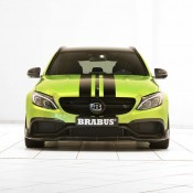 "Brabus Mercedes AMG C63 Wagon 650 3 175x175 at Brabus Mercedes AMG C63 Wagon 650 ""Green Hell"""
