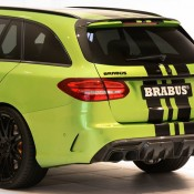 "Brabus Mercedes AMG C63 Wagon 650 7 175x175 at Brabus Mercedes AMG C63 Wagon 650 ""Green Hell"""