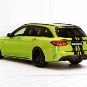 "Brabus Mercedes AMG C63 Wagon 650 8 175x175 at Brabus Mercedes AMG C63 Wagon 650 ""Green Hell"""