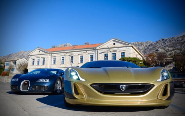 Bugatti Veyron v Rimac Concept One 1 600x377 at Bugatti Veyron v Rimac Concept One – The Ultimate Challenge