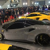 Liberty Walk Ferrari 488 4 175x175 at Liberty Walk Ferrari 488 Debuts at TAS 2017