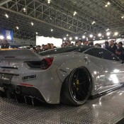 Liberty Walk Ferrari 488 5 175x175 at Liberty Walk Ferrari 488 Debuts at TAS 2017