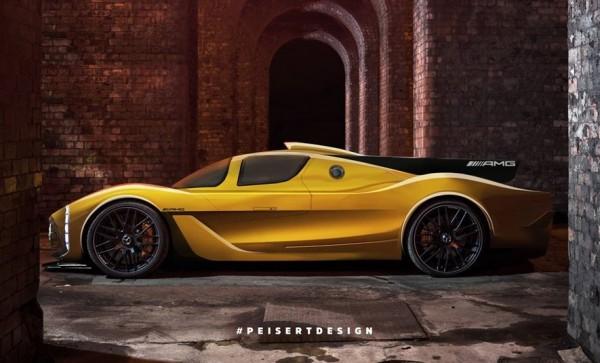 Mercedes AMG Hypercar render 0 600x363 at Mercedes AMG Hypercar   New Renderings Emerge