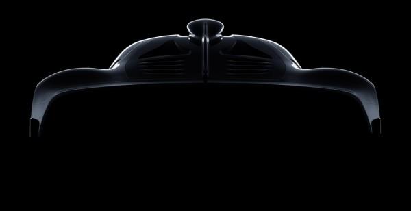 Mercedes AMG Hypercar teaser 1 600x308 at Mercedes AMG Hypercar Initial Specs Revealed