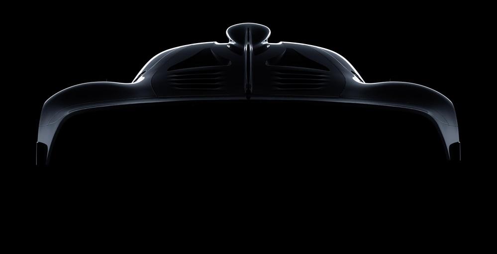 Mercedes AMG Hypercar teaser 1 at Mercedes AMG Hypercar Initial Specs Revealed