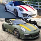 RDBLA Porsche 911 R 6 175x175 at RDBLA Porsche 911 R with Special Wrap