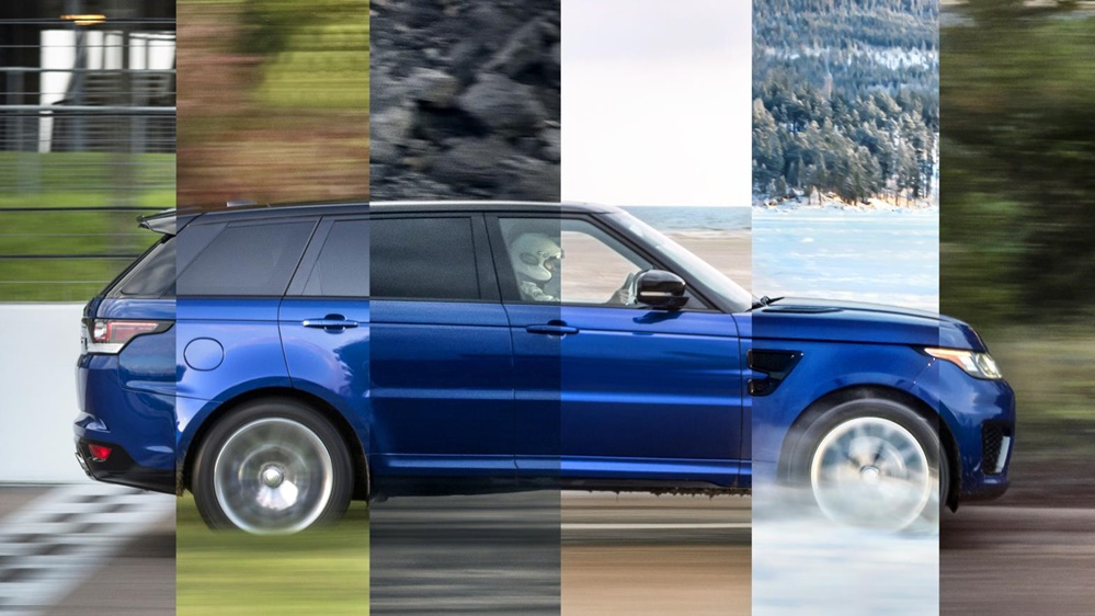 Range Rover Sport SVR sprint 1 at Range Rover Sport SVR Is an All Terrain Speed Machine