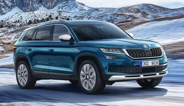 Skoda Kodiaq Scout 1 600x347 at Off Road Ready Skoda Kodiaq Scout Announced