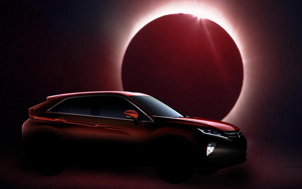 Mitsubishi Eclipse Cross teaser 1 at Geneva Preview: Mitsubishi Eclipse Cross
