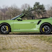 Olive Green Porsche 991 Turbo S 6 175x175 at Sight to Behold: Olive Green Porsche 991 Turbo S Cab Mk II