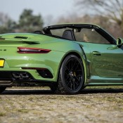 Olive Green Porsche 991 Turbo S 7 175x175 at Sight to Behold: Olive Green Porsche 991 Turbo S Cab Mk II