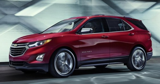 2018 Chevrolet Equinox top at 2018 Chevrolet Equinox Goes Official