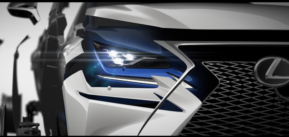 2018 NX at 2018 Lexus NX Facelift Teased for Shanghai Debut