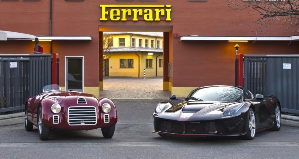 at Ferrari Marks its 70th Anniversary with 125S/LaFerrari Tribute