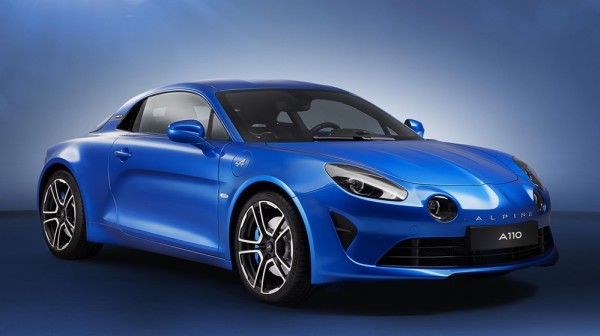 Alpine A110 off 0 600x336 at Production Alpine A110 Revealed with 250 hp