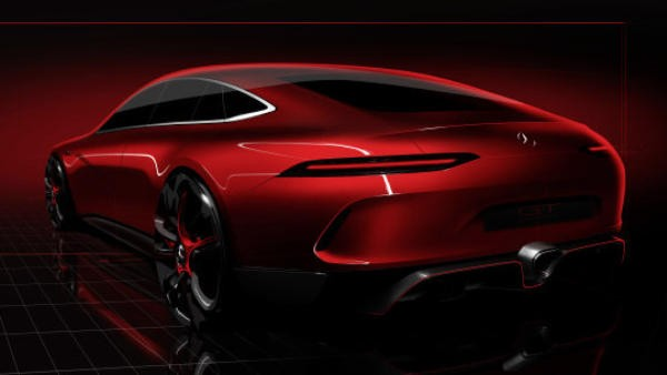 D345780 The Mercedes AMG GT family continues to grow With th 600x338 at Four Door Mercedes AMG GT Concept Set for Geneva Debut