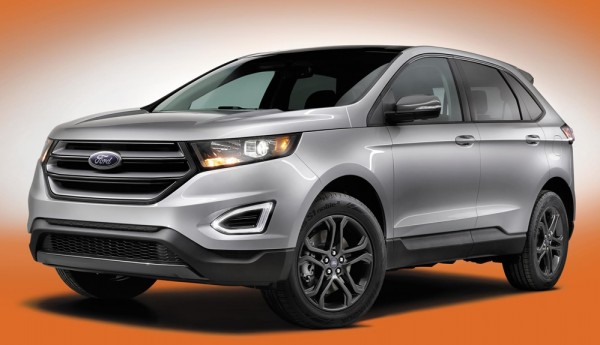 Ford Edge SEL 1 600x345 at 2018 Ford Edge Gets SEL Sport Appearance Pack